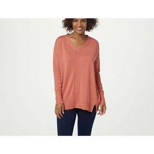 NWOT Halston Coral Lightweight Sweater Size 2X